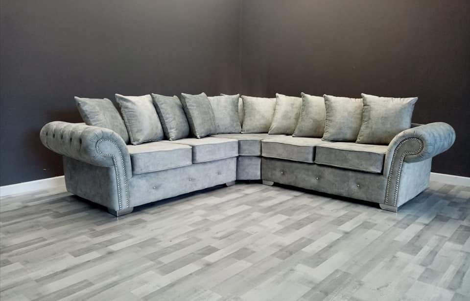 The Luxury Florence Corner Sofa Crown